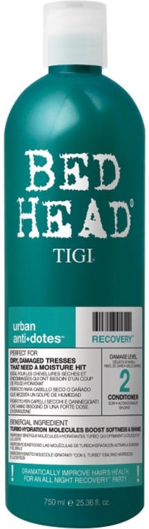Feuchtigkeitsspendender Balsam für trockenes und strapaziertes Haar - Tigi Tigi Bed Head Urban Anti+dotes Recovery Conditioner