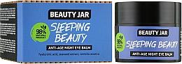 Düfte, Parfümerie und Kosmetik Anti-Aging Nachtbalsam für die Augenpartie - Beauty Jar Anti-Age Night Eye Balm