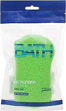 Düfte, Parfümerie und Kosmetik Badeschwamm hellgrün - Suavipiel Microfiber Bath Sponge Extra Soft