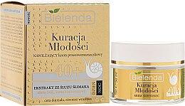 Düfte, Parfümerie und Kosmetik Feuchtigkeitsspendende Anti-Falten Gesichtscreme mit Schneckenschleim-Extrakt 40+ - Bielenda Kuracja Mlodosci Cream 40+