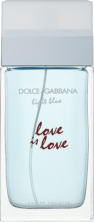 Dolce & Gabbana Light Blue Love is Love Pour Femme - Eau de Toilette