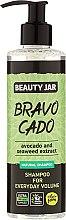 Düfte, Parfümerie und Kosmetik Shampoo für mehr Volumen - Beauty Jar Bravo Cado Natural Shampoo