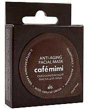 Düfte, Parfümerie und Kosmetik Verjüngende Schokoladen-Gesichtsmaske mit natürlichem Kakao - Cafe Mimi Anti-Aging Mask