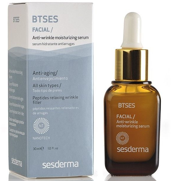 Feuchtigkeitsspendendes Anti-Falten Gesichtsserum - SesDerma Laboratories BTSeS Anti-wrinkle Moisturizing Serum — Bild N1