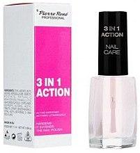 Düfte, Parfümerie und Kosmetik 3in1 Nagelhärter + Langanhaltender Nagellack + Nagelpflege - Pierre Rene 3 in 1 Action Nail Care