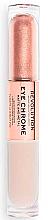 Düfte, Parfümerie und Kosmetik Doppelseitige flüssige Lidschatten - Makeup Revolution Eye Chrome Liquid Eyeshadow