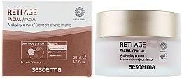 Düfte, Parfümerie und Kosmetik Anti-Aging Gesichtscreme mit 3-Retinol-System - SesDerma Laboratories Reti Age Facial Antiaging Cream 3-Retinol System