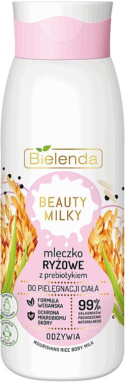 Nährende Körpermilch mit Reis - Bielenda Beauty Milky Nourishing Rice Body Milk