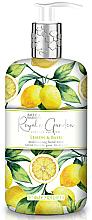 Düfte, Parfümerie und Kosmetik Flüssige Handseife Lemon & Basil - Baylis & Harding