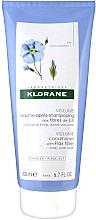 Düfte, Parfümerie und Kosmetik Haarspülung mit Leinfasern für mehr Volumen - Klorane Volume Conditioner With Flax Fiber