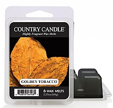 Düfte, Parfümerie und Kosmetik Tart-Duftwachs Golden Tobacco - Country Candle Golden Tobacco Wax Melts