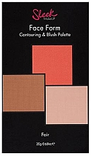 Düfte, Parfümerie und Kosmetik Kontur- und Rouge-Palette - Sleek Makeup Face Form Ultimate Contour Kit Fair