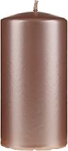 Düfte, Parfümerie und Kosmetik Dekorative Kerze Opal rosa-gold 14 cm - Artman Opal Candle