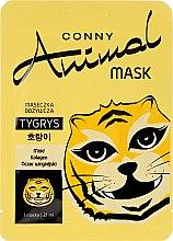 Düfte, Parfümerie und Kosmetik Nährende Gesichtsmaske mit Honig, Hamamelis und Kollagen - Conny Animal Mask Tygrys