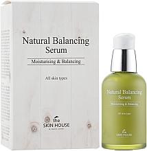 Düfte, Parfümerie und Kosmetik Feuchtigkeitsspendendes und ausgleichendes Gesichtsserum - The Skin House Natural Balancing Serum