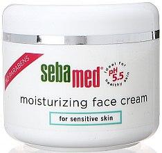 Düfte, Parfümerie und Kosmetik Feuchtigkeitsspendende Gesichtscreme für empfindliche Haut - Sebamed Moisturing Face Cream Sensitive Skin