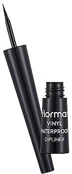 Wasserfester Eyeliner - Flormar Vinyl Waterproof Dipliner