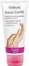 Düfte, Parfümerie und Kosmetik Pflegende Hand- und Nagelcreme - Floslek Hand Care Hand And Nail Cream Nourishing