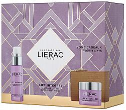 Düfte, Parfümerie und Kosmetik Gesichtspflegeset - Lierac Lift Integral Nutri (Gesichtscreme 50ml + Gesichtsserum 30ml + Kosmetiktasche)
