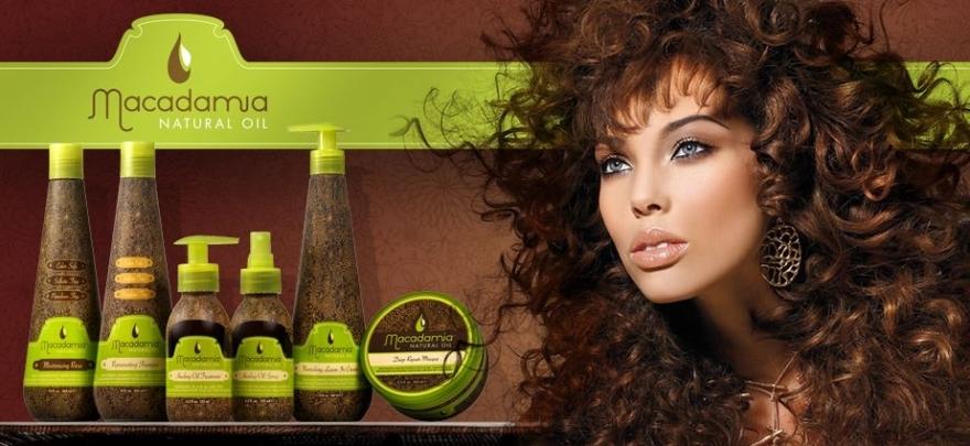 Pflegender Conditioner ohne Ausspülen mit Macadamiaöl - Macadamia Natural Oil Nourishing Leave-in Cream — Bild N2