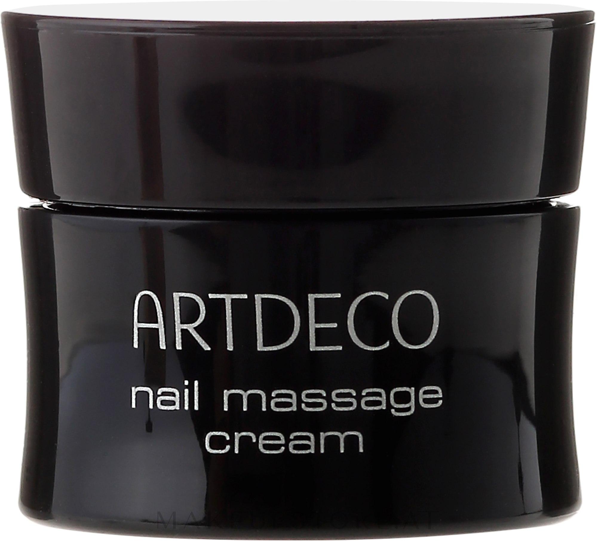 Massagecreme für Nägel und spröde, rissige und trockene Nagelhaut - Artdeco Nail Massage Cream — Bild 17 ml