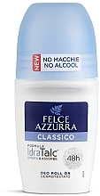 Düfte, Parfümerie und Kosmetik Deo Roll-on - Felce Azzurra Deo Roll-on IdraTalc Classic
