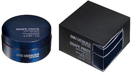Modellierende Haarpaste - Shu Uemura Art Of Hair Shape Paste Sculpting Putty — Bild N2