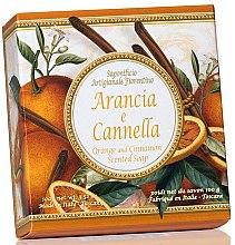 Düfte, Parfümerie und Kosmetik Naturseife Orange und Zimt - Saponificio Artigianale Fiorentino Orange & Cinnamon Soap