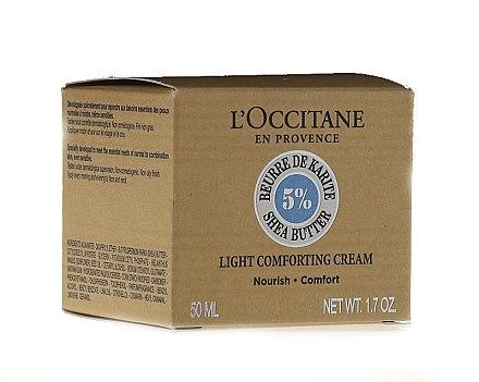 Leichte pflegende Gesichtscreme mit Sheabutter - L'occitane Light Face Cream — Bild N2