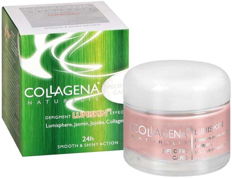 Intensive Gesichtscreme gegen Pigmentflecken mit Kollagen - Collagena Naturalis Depigment Lumiskin Effect Specific Care