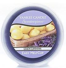 """Düfte, Parfümerie und Kosmetik Duftwachs """"Lemon Lavender"""" für elektrische Duftlampe - Yankee Candle Lemon Lavender Melt Cup"""