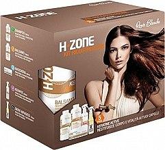 Düfte, Parfümerie und Kosmetik Haarpflegeset - H.Zone (Shampoo 500ml + Haarlotion 500ml + Haarspray 250ml + Haarserum 150ml + Tuch)