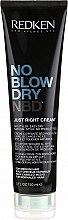 Düfte, Parfümerie und Kosmetik Stylingcreme für normales Haar - Redken No Blow Dry Just Right Cream