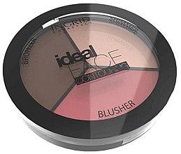 Düfte, Parfümerie und Kosmetik Gesichtskontur-Palette - Ingrid Cosmetics Ideal Face Foundation