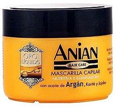 Düfte, Parfümerie und Kosmetik Haarmaske mit Arganöl - Anian Liquid Gold Hair Argan Mask