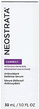 Düfte, Parfümerie und Kosmetik Antioxidatives Gesichtsserum mit AHA-Säuren und Vitamin C, E - Neostrata Correct Antioxidant Defense Serum