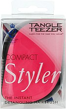 Düfte, Parfümerie und Kosmetik Kompakte Haarbürste - Tangle Teezer Compact Styler Pink Sizzle