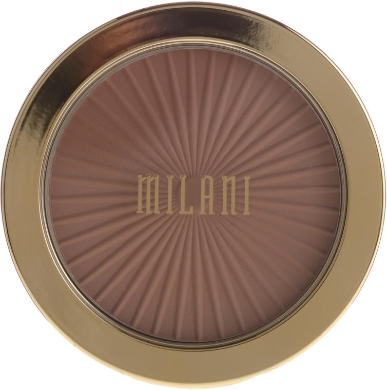 Gesichtsbronzer - Milani Silky Matte Bronzing Powder