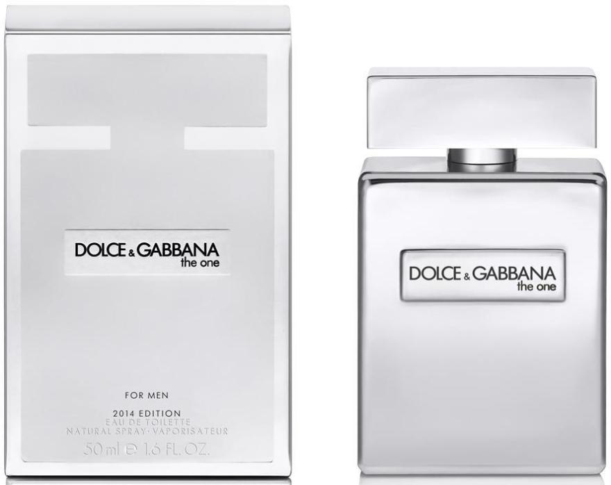 Dolce & Gabbana The One Platinum Limited Edition - Eau de Toilette — Bild N1