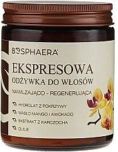 Düfte, Parfümerie und Kosmetik Regenerierende Haarspülung mit Mango- und Avocadoöl - Bosphaera