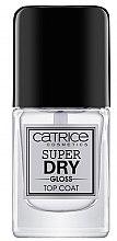 Düfte, Parfümerie und Kosmetik Schnelltrocknender Nagelüberlack - Catrice Super Dry Gloss Top Coat