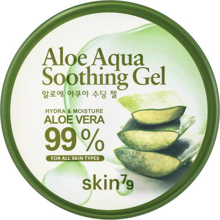 Beruhigendes und feuchtigkeitsspendendes Körpergel mit Aloe Vera für trockene Haut - Skin79 Aloe Aqua Soothing Gel