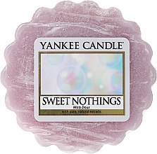Düfte, Parfümerie und Kosmetik Tart-Duftwachs Sweet Nothings - Yankee Candle Sweet Nothings Tarts Wax Melts