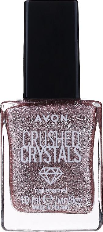 Kristallglitter-Nagellack für ein dreidimensionales Sand-Finish - Avon Crushed Crystals