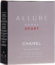 Düfte, Parfümerie und Kosmetik Chanel Allure Homme Sport Eau Extreme - Duftset (Eau de Parfum 20ml + Eau de Parfum Refill 2x20ml)
