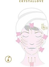 Gesichtsmassage-Platte aus Jade - Crystallove Jade Gua Sha — Bild N3