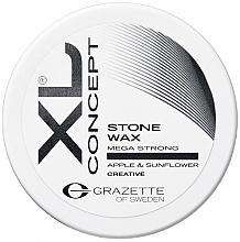 Düfte, Parfümerie und Kosmetik Mattes Haarwachs mit Sonnenblumen- und Apfelextrakt - Grazette XL Concept Stone Wax
