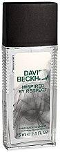 Düfte, Parfümerie und Kosmetik David Beckham Inspired by Respect - Parfümiertes Körperspray