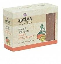 Düfte, Parfümerie und Kosmetik Sanfte Glycerinseife für den Körper Mango - Sattva Hand Made Soap Mango