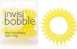 "Düfte, Parfümerie und Kosmetik Haargummis ""Submarine Yellow"" 3 St. - Invisibobble Submarine Yellow"